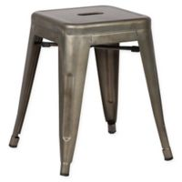 Poly and Bark Trattoria 18-Inch Stool in Bronze