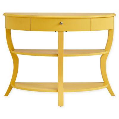 Verona Home Jolene Console Table In Yellow