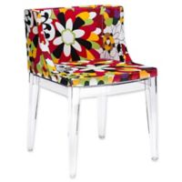 Poly and Bark Flower Side Chair