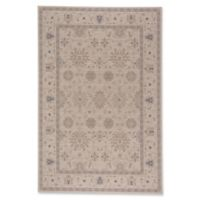 Capel Rugs Municipality-Ushak 5-Foot 3-Inch x 7-Foot 6-Inch Area Rug in Blue