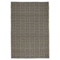 Capel Rugs Williamsburg Chateau 9-Foot x 12-Foot Area Rug in Grey/Blue