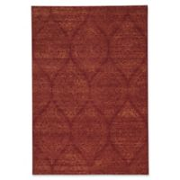 Capel Rugs Channel 3-Foot 11-Inch x 5-Foot 6-Inch Area Rug in Flame