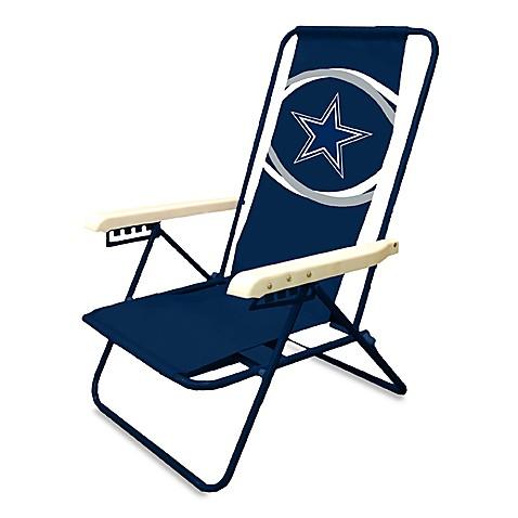 Wonderful NFL Dallas Cowboys Folding Beach Chair
