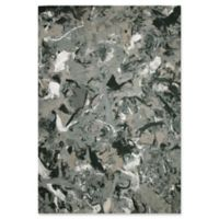 Liora Manne Visions I Quarry 1-Foot 6-Inch x 2-Foot 5.5-Inch Accent Rug in Grey