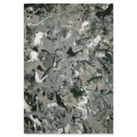 Liora Manna Visions I Quarry 2-Foot 5-Inch x 4-Foot Indoor/Outdoor Accent Rug in Grey