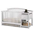 Montville Collection 4-in-1 Crib and Changer in White