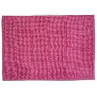 Design Imports 17-Inch x 24-Inch Popcorn Bath Rug in Pink
