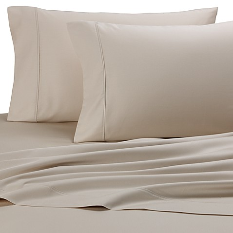 Royal Velvet Cot Sheet Set in Taupe