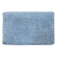 Castle Hill London 1-Foot 9-Inch x 2-Foot 10-Inch Melbourne Bath Rug in Blue