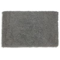 Castle Hill London 1-Foot 9-Inch x 2-Foot 10-Inch Melbourne Bath Rug in Silver