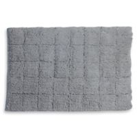 Castle Hill London 1-Foot 8-Inch x 2-Foot 6-Inch Summer Tile Bath Rug in Silver