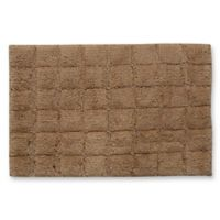 Castle Hill London 1-Foot 8-Inch x 2-Foot 6-Inch Summer Tile Bath Rug in Taupe