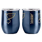 NHL St. Louis Blues 16 oz. Stainless Steel Curved Ultra Tumbler Wine Glass