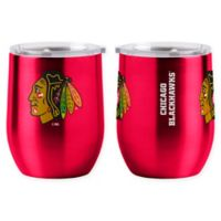 NHL Chicago Blackhawks 16 oz. Stainless Steel Curved Ultra Tumbler Wine Glass