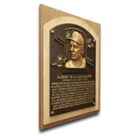 MLB Detroit Tigers Al Kaline That's My Ticket Hall of Fame Canvas Plaque