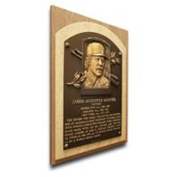 MLB New York Yankees Catfish Hunter That's My Ticket Hall of Fame Canvas Plaque