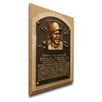 MLB Milwaukee Brewers Eddie Matthews That's My Ticket Hall of Fame Canvas Plaque