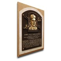 MLB Philadelphia Phillies Jim Bunning That's My Ticket Hall of Fame Canvas Plaque