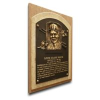 MLB St. Louis Cardinals Lou Brock That's My Ticket Hall of Fame Canvas Plaque