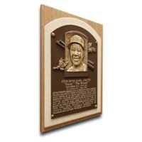 MLB St. Louis Cardinals Ozzie Smith That's My Ticket Hall of Fame Canvas Plaque