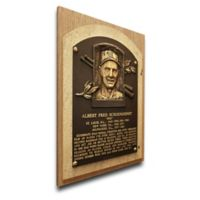 MLB St. Louis Cardinals Red Schoendienst That's My Ticket Hall of Fame Canvas Plaque