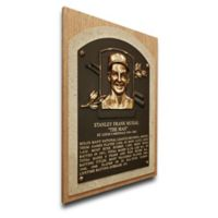 MLB St. Louis Cardinals Stan Musial That's My Ticket Hall of Fame Canvas Plaque