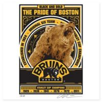 NHL Boston Bruins The Pride of Boston Serigraph
