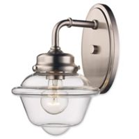 Smith Wall Sconce in Brushed Nickel