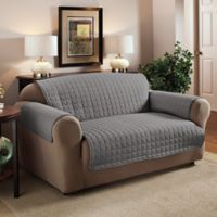 Innovative Textile Solutions Microfiber Loveseat Protector in Grey