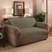 Innovative Textile Solutions Microfiber Loveseat Protector in Sage
