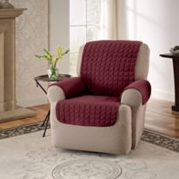 Innovative Textile Solutions Microfiber Recliner Protector in Burgundy