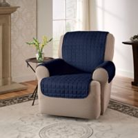 Innovative Textile Solutions Microfiber Recliner Protector in Navy
