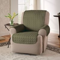Innovative Textile Solutions Microfiber Recliner Protector in Sage