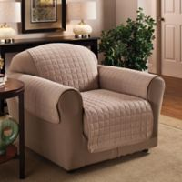Innovative Textile Solutions Microfiber Chair Protector in Natural