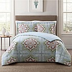 Style 212 Sheffield King Comforter Set in Green