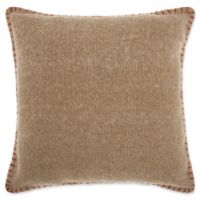 Mina Victory by Nourison Stitched Square Throw Pillow in Beige