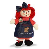 Aurora World® Raggedy Ann Plush Toy in Red