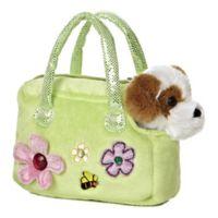 Aurora World® Murphy Dog Carrier Plush Toy
