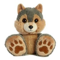 Aurora® Taddle Toes Eclipse Wolf Plush Toy