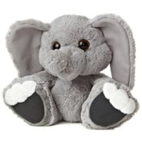 Aurora World® Taddle Toes Stomper Elephant Plush Toy in Grey
