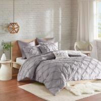 Urban Habitat 7-Piece Full/Queen Comforter Set in Grey
