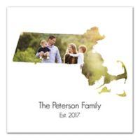Designs Direct Massachusetts Family Canvas Wall Art