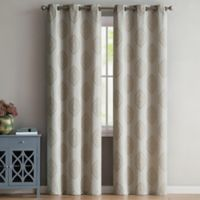 VCNY Home Gianne 96-Inch Grommet Top Window Curtain Panel Pair in Ivory