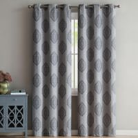 VCNY Home Gianne 96-Inch Grommet Top Window Curtain Panel Pair in Taupe
