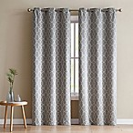 VCNY Home Odyssey 96-Inch Grommet Top Room Darkening Window Curtain Panel Pair in Mocha