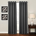 Ashton 108-Inch Grommet Top Room Darkening Window Curtain Panel in Charcoal