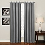 Ashton 84-Inch Grommet Top Room Darkening Window Curtain Panel in Platinum