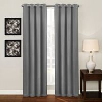 Ashton 95-Inch Grommet Top Room Darkening Window Curtain Panel in Platinum