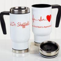 The Heart of Caring 14 oz. Commuter Travel Mug