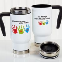 Touches A Life Teacher 14 oz. Travel Mug